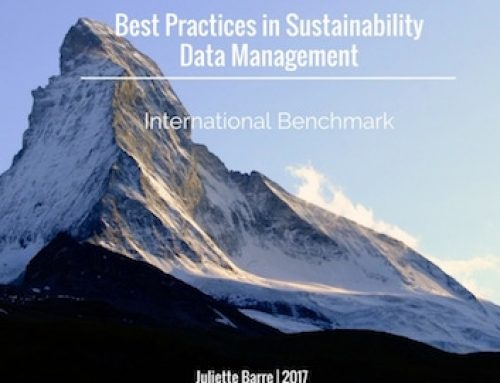 2017 Best Practices in Sustainability Data Management